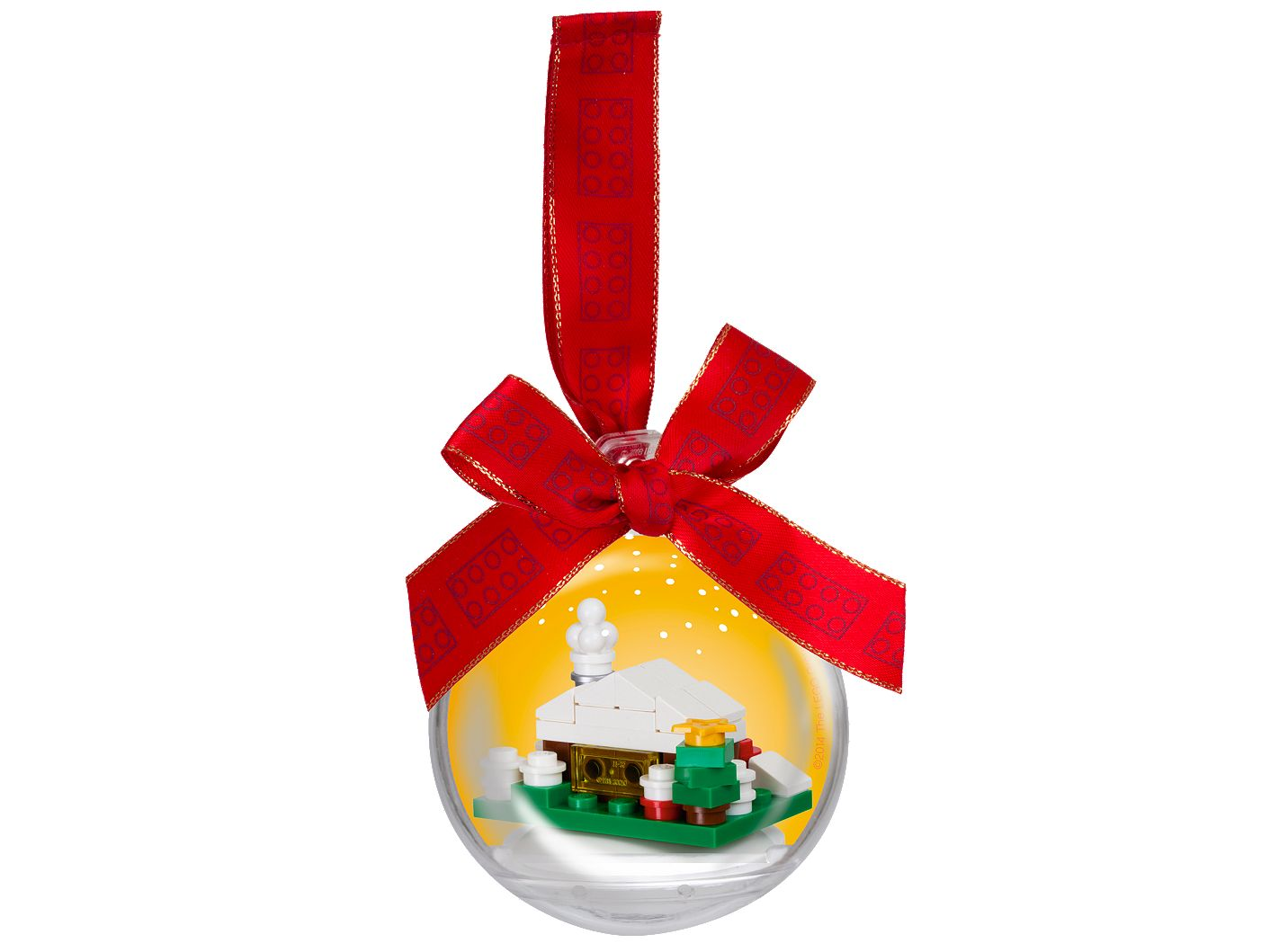 Christmas Snow Hut Ornament