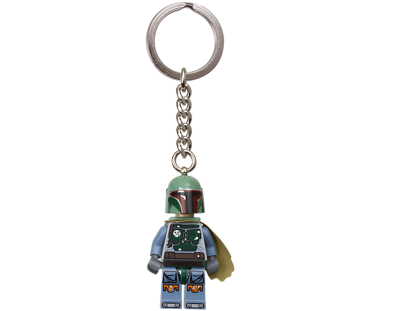 "LEGO Star Wars"" Boba Fett"" Keyring 6143984"