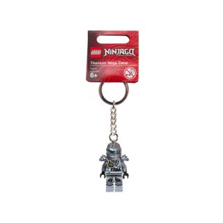 LEGO® NINJAGO™ Titanium Ninja Zane Key Chain