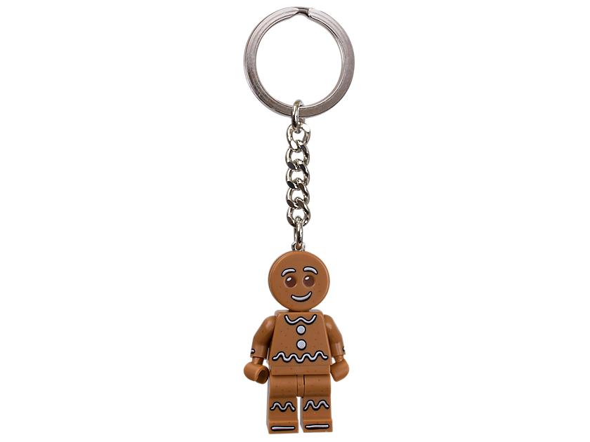 LEGO Iconic Gingerbread Keyring
