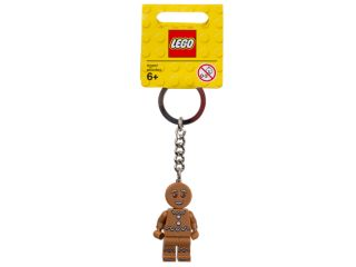 LEGO® Iconic Gingerbread Keyring