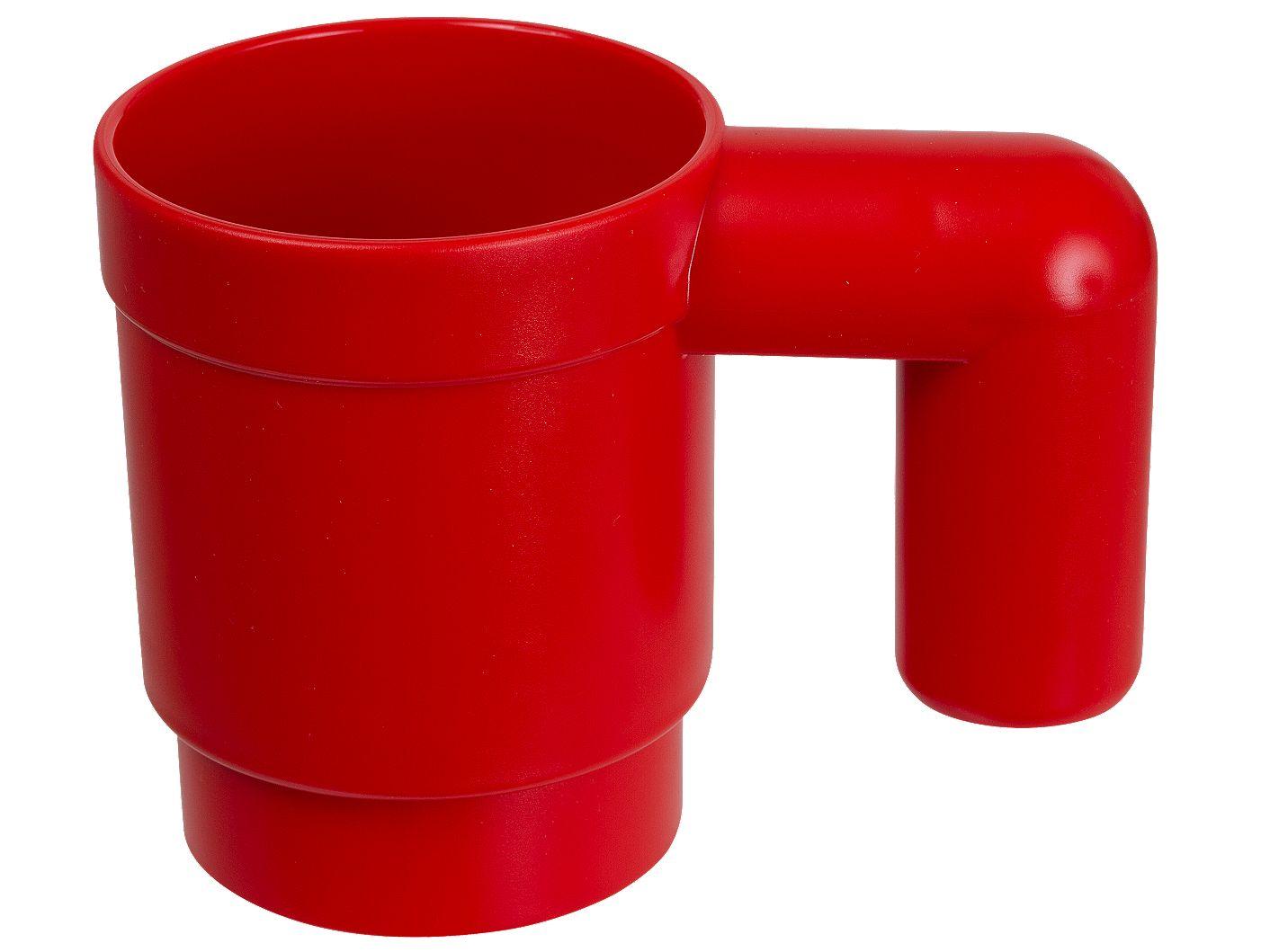 Forstørret kop (rød)
