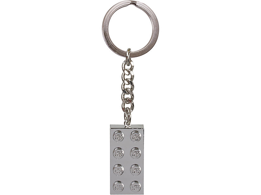 Metalized 2x4 Key Chain 6143957