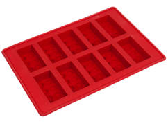 레고 브릭 얼음 트레이 빨강
