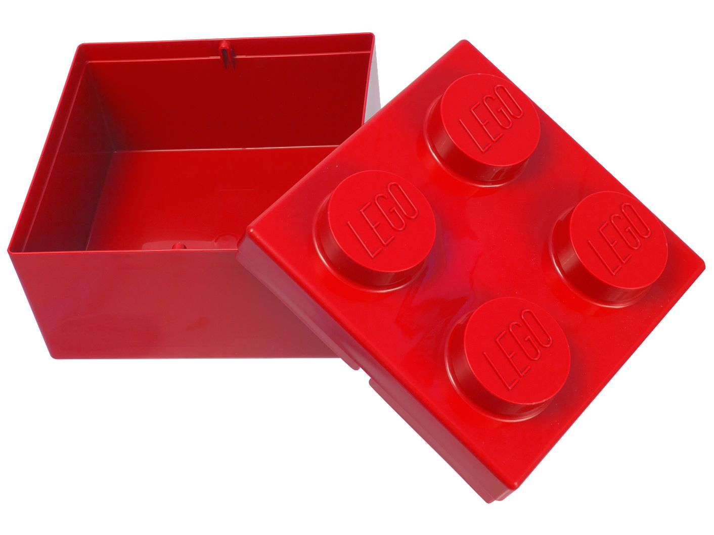 LEGO® 2x2 Red Storage Brick