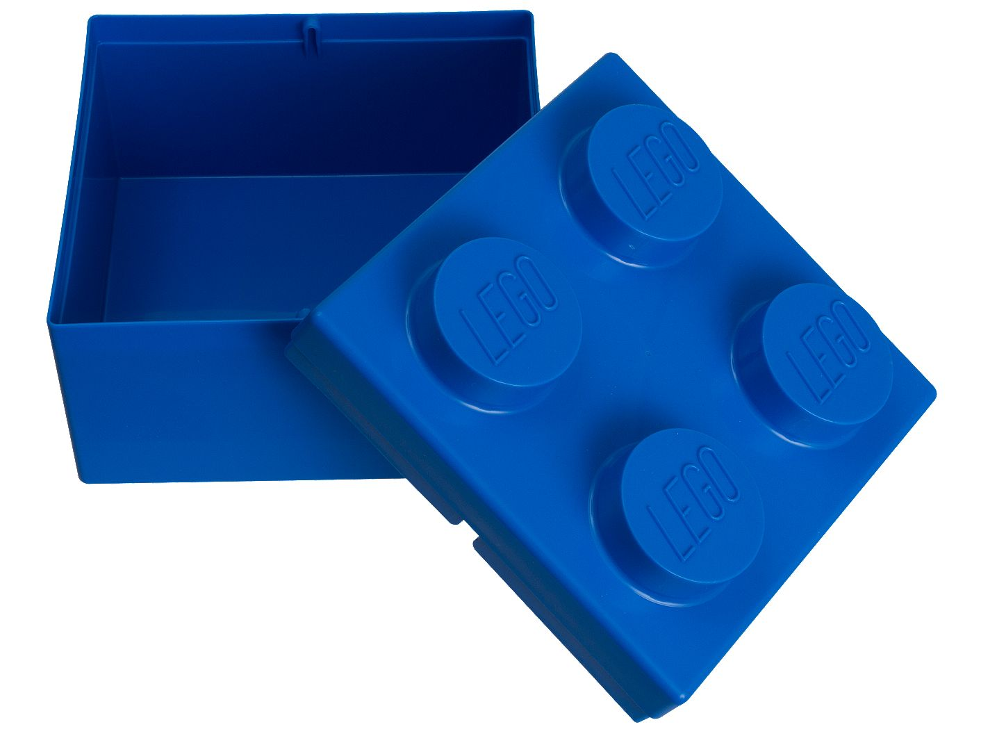 LEGO® 2x2 Blue Storage Brick