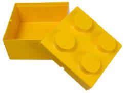 레고®2x2 노란색 보관상자