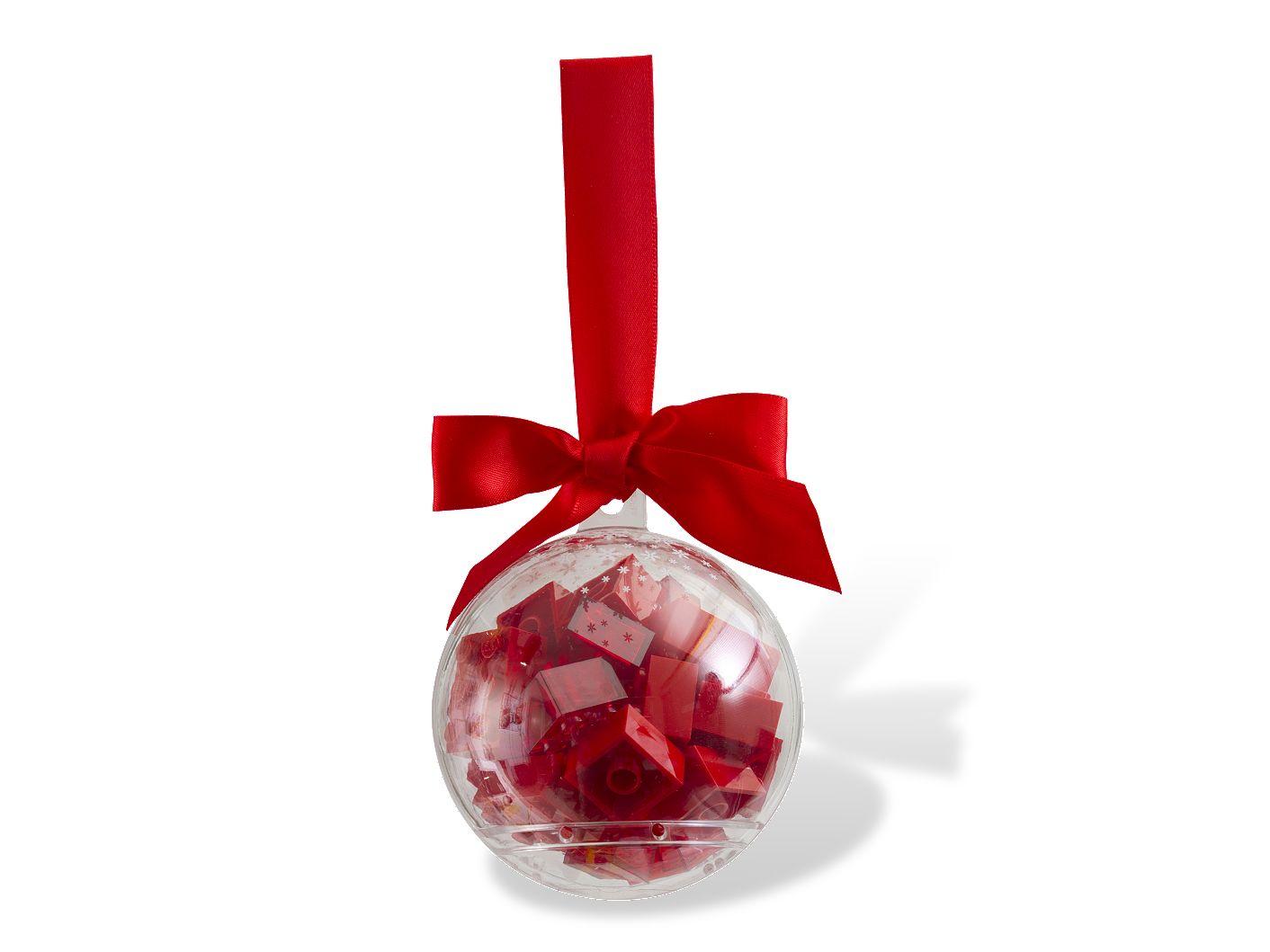 Décoration de Noël avec briques rouges
