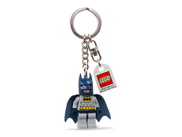 <p>Take <i>Batman</i>™ everywhere you go and carry the super power of an authentic LEGO® Super Heroes minifigure right on your keys or backpack!</p>