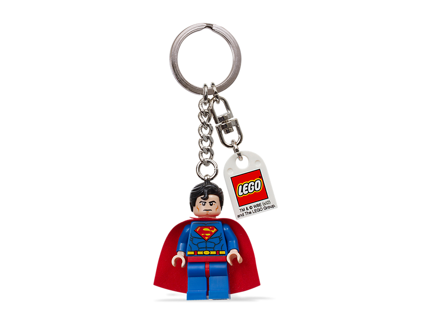"LEGO Super Heroes Superman "" Key Chain"