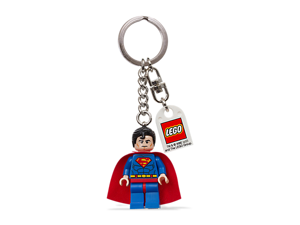 <p>Make every day a little more heroic with an authentic LEGO® <i>Superman</i>™ minifigure attached to your keys or backpack with a sturdy metal ring!</p>
