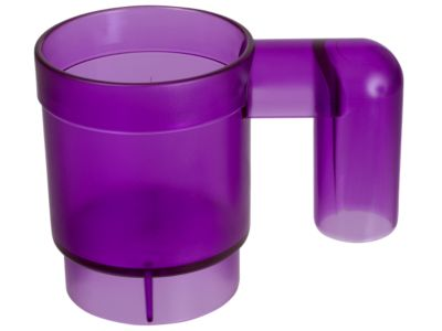 <p>This stackable LEGO® Friends mug is made of transparent plastic, stackable and upscaled to 10 times the size of a standard LEGO mug element.</p>