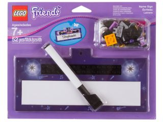 LEGO® Friends Name Sign
