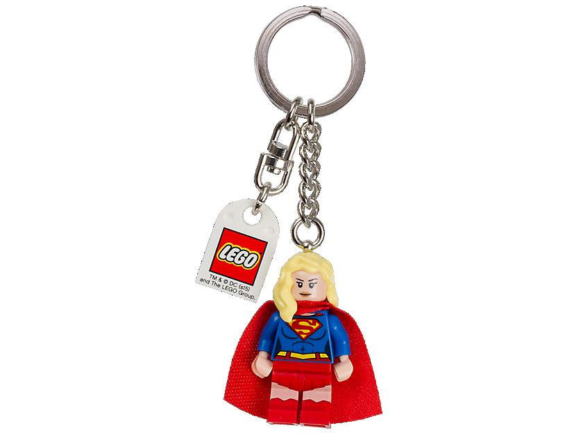 """LEGO DC Comics"""" Super Heroes Supergirl Keyring"""
