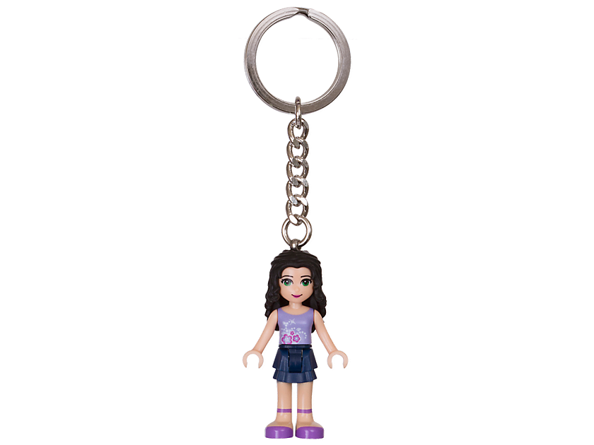 LEGO Friends Emma Keyring
