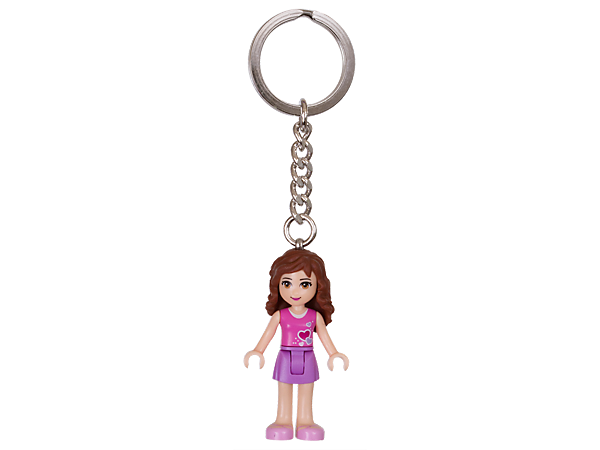 Explore product details and fan reviews for LEGO® Friends Olivia Key Chain 853551 from Friends. Buy today with The Official LEGO® Shop Guarantee.