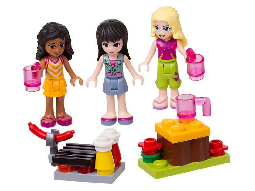 LEGO® Friends Mini - doll Campsite Set