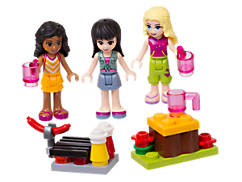 LEGO® Friends Mini-doll Campsite Set