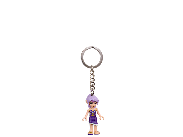 Unlock exciting and mysterious adventures with this LEGO® Elves Key Chain featuring an authentic Aira mini-doll figure with sturdy metal ring and chain.