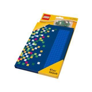 Carnet de notes avec tenons LEGO®
