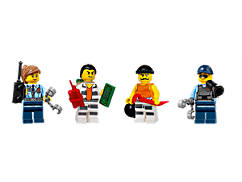 LEGO® City Prison Island Accessory Pack