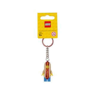 LEGO® Hot Dog Guy Keyring