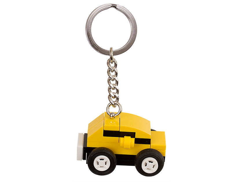 LEGO Yellow Car Bag Charm