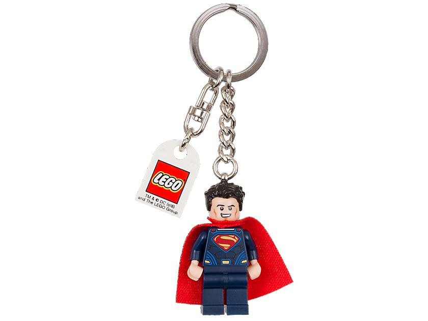 """LEGO DC Comics Super Heroes Superman"""" Keyring"""