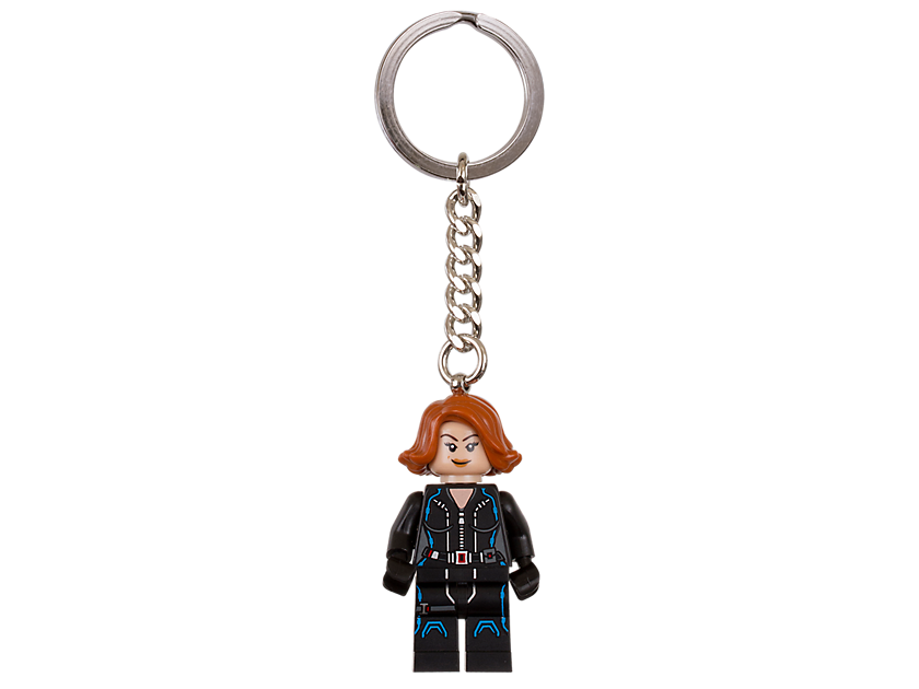 LEGO Marvel Super Heroes Black Widow Keyring