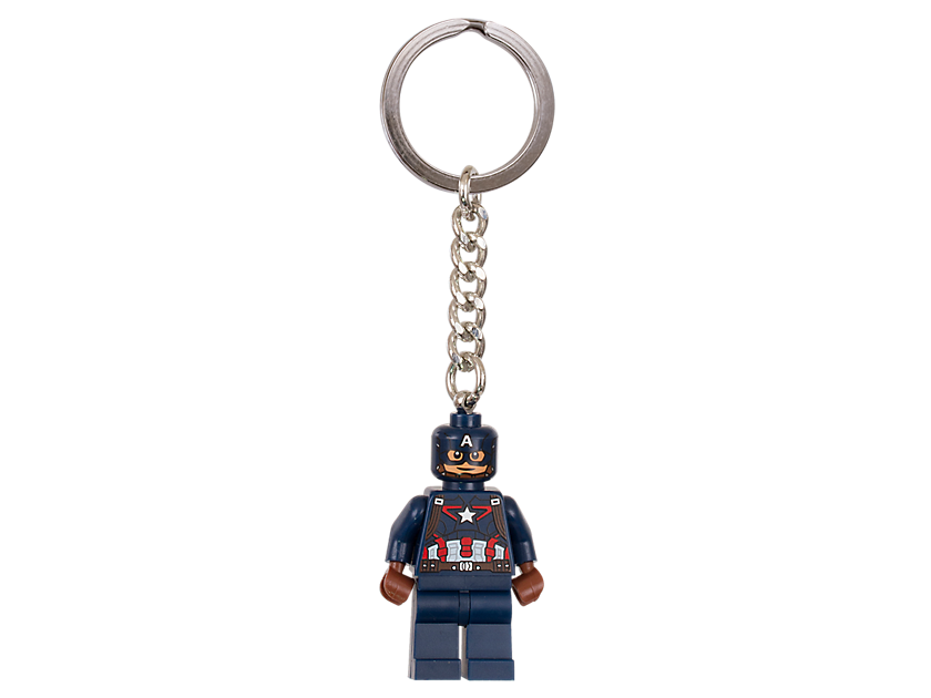 LEGO Marvel Super Heroes Captain America Key Chain