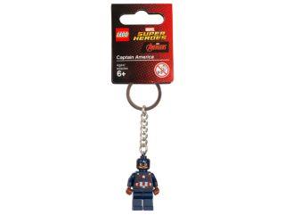 LEGO® Marvel Super Heroes přívěsek na klíče s Kapitánem Amerikou
