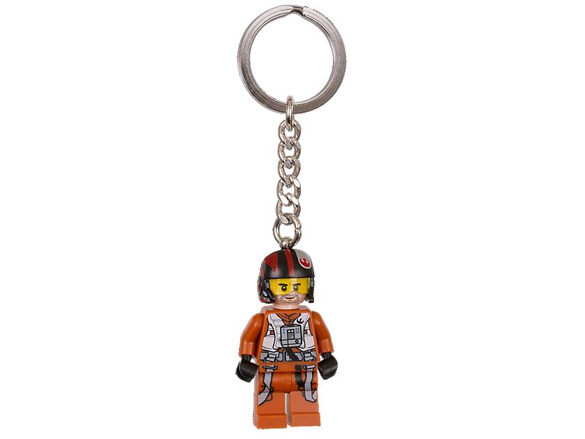 "LEGO Star Wars Poe Dameron"" Keyring 6153630"