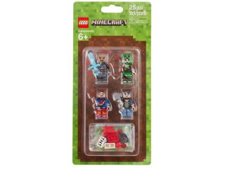 Assortiment d'habillages LEGO® Minecraft™ 1