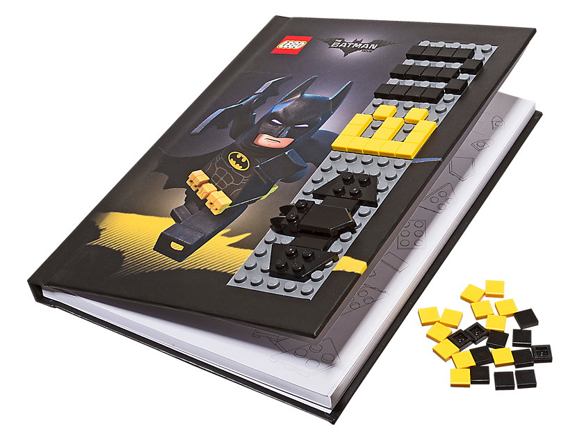 The Lego® Batman Movie Batman Notebook With Stud Cover