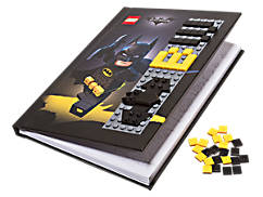 DE LEGO® BATMAN FILM Batman™ notitieboek met noppenkaft