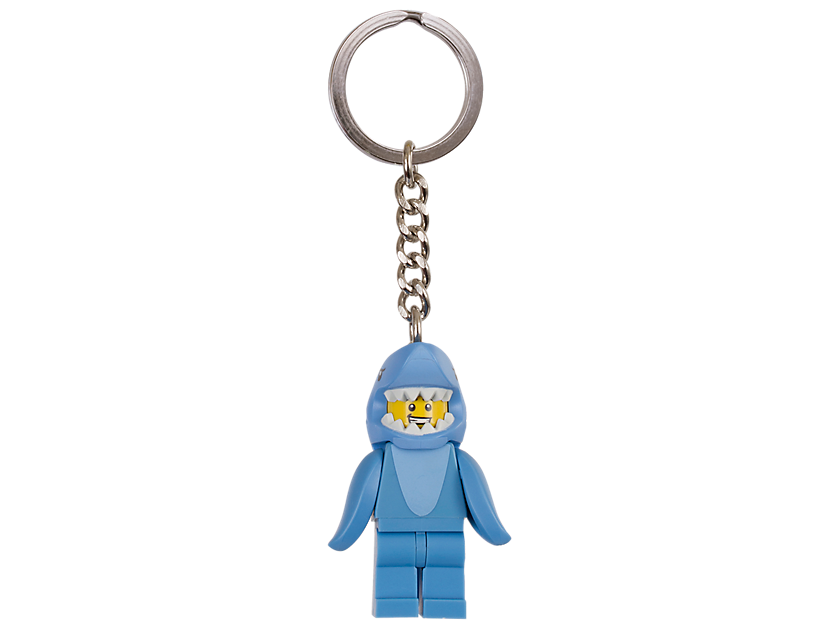 LEGO Shark Suit Guy Keyring