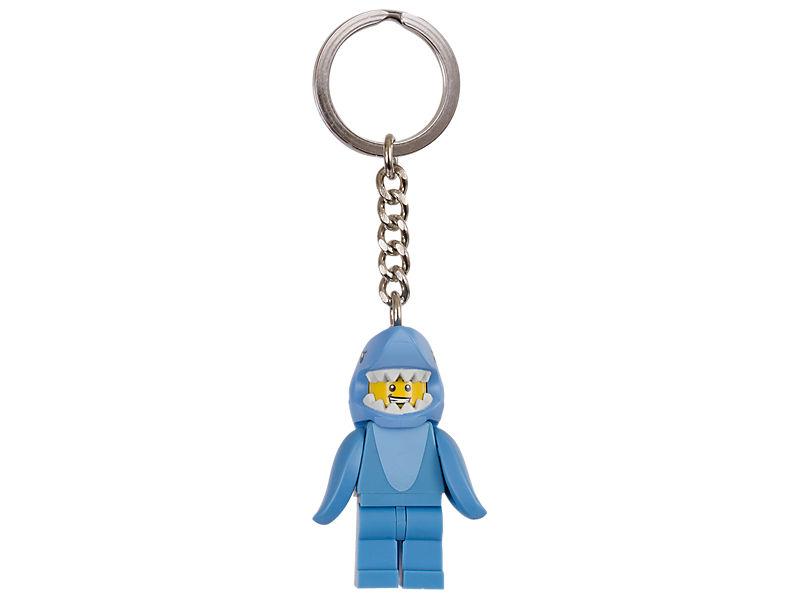 Porte-clés homme en costume de requin LEGO®