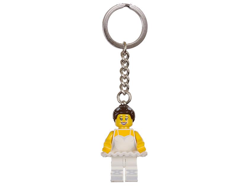 LEGO Ballerina Keyring
