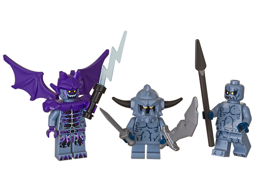 LEGO® NEXO KNIGHTS Stone Monsters Accessory Set