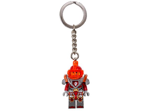 Leiste Macy Halbert, der wilden Prinzessin aus dem Königshaus von Knighton, Gesellschaft. Dieser Schlüsselanhänger besteht aus einer LEGO® NEXO KNIGHTS™ Minifigur an einem stabilen Metallring mit robuster Kette.