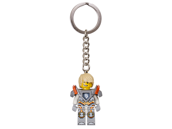 Keep your keys safe with the dashing Lance Richmond, a real LEGO® NEXO KNIGHTS™ hero, featuring an authentic minifigure with sturdy metal ring and chain.