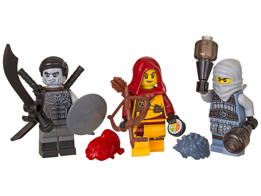 Ensemble d´accessoires LEGO® NINJAGO®