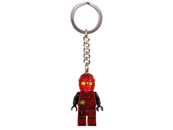 Keep a ninja hero with you at all times with this Kai keyring, featuring an authentic minifigure with sturdy metal ring and chain.