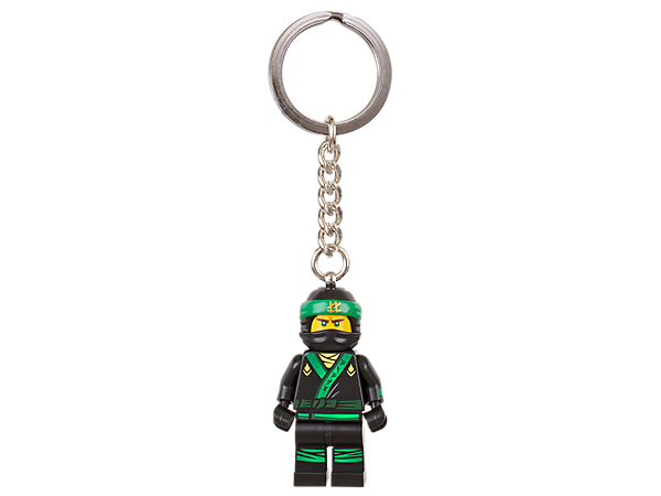Live the life of a ninja with THE LEGO® NINJAGO® MOVIE™ Lloyd keyring, featuring a minifigure with sturdy metal ring and chain.