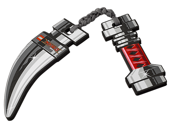 Role-play thrilling ninja battles with THE LEGO® NINJAGO® MOVIE™ Nunchucks in soft-foam and fabric.
