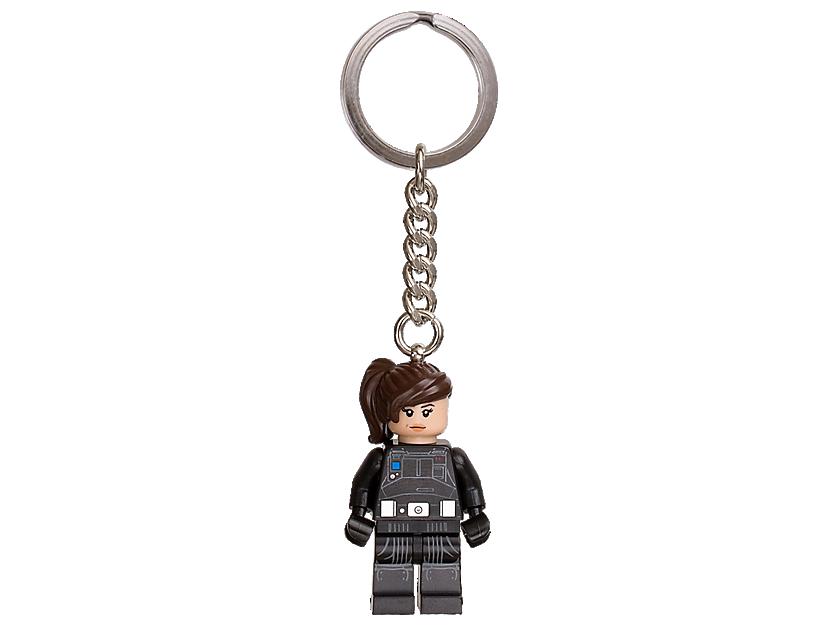 """LEGO Star Wars"""" Jyn Erso"""" Keyring"""