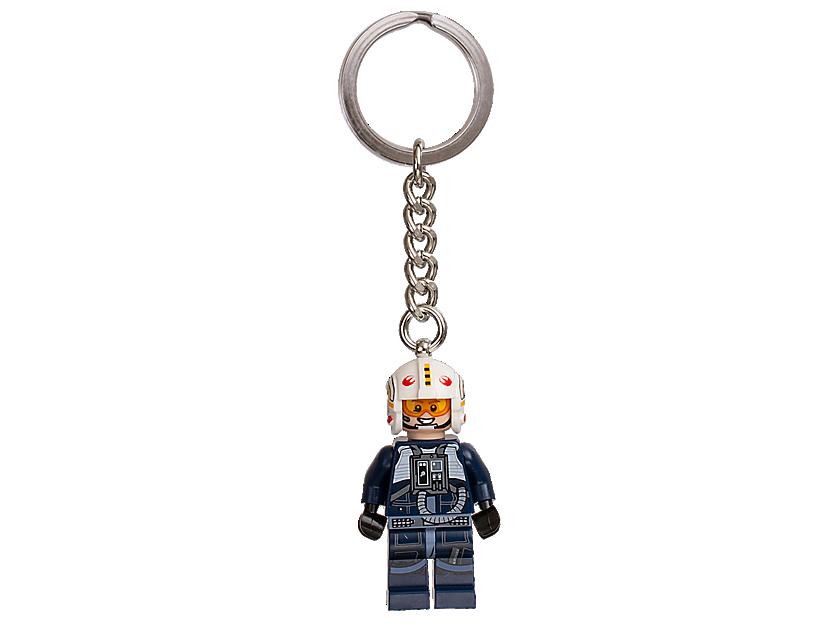 """LEGO Star Wars"""" YWing Pilot"""" Keyring"""