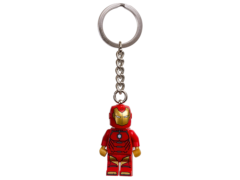 LEGO Marvel Super Heroes Invincible Iron Man Keyring