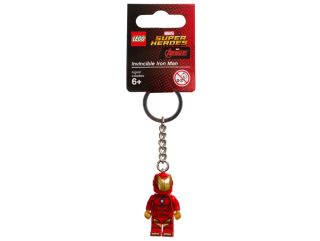 LEGO® Marvel Super Heroes Invincible Iron Man Keyring