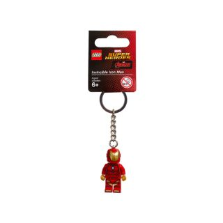 Llavero de Invincible Iron Man LEGO® Marvel Super Heroes